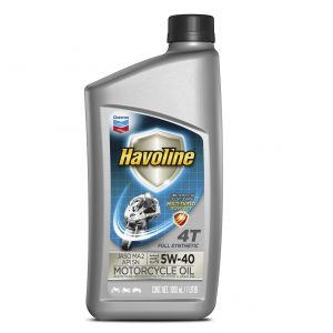 ACEITE Havoline Full Synthetic Motorcycle Oil 4T SAE 5W 40 y SAE 10W 50